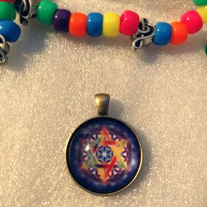 CHAKRA STAR - Necklace Pendant - Zen Fashion